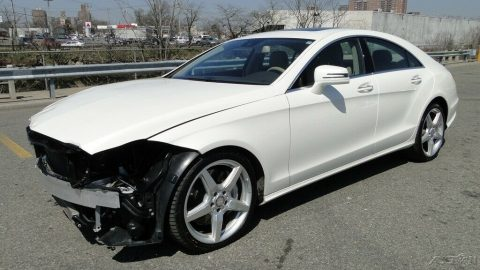 luxurious 2014 Mercedes Benz CLS Class repairable for sale