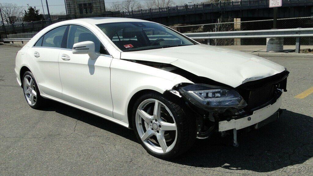 luxurious 2014 Mercedes Benz CLS Class repairable