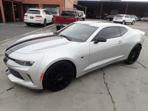 well equipped 2016 Chevrolet Camaro LT repairable for sale