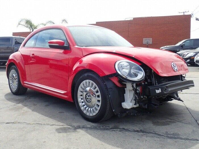 classic 2014 Volkswagen Beetle New 2.5L Coupe repairable