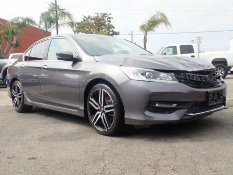 easy fix 2017 Honda Accord Sport Special Edition repairable for sale