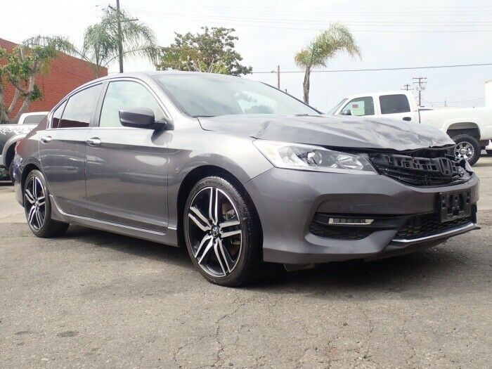 easy fix 2017 Honda Accord Sport Special Edition repairable