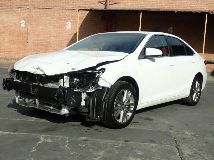 front damage 2015 Toyota Camry SE repairable