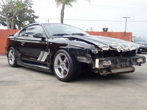 low mileage 1998 Ford Mustang SVT Cobra repairable for sale