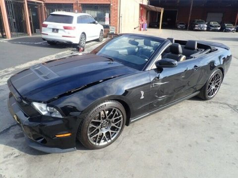 low miles 2011 Ford Mustang GT500 repairable for sale