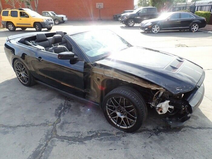 low miles 2011 Ford Mustang GT500 repairable