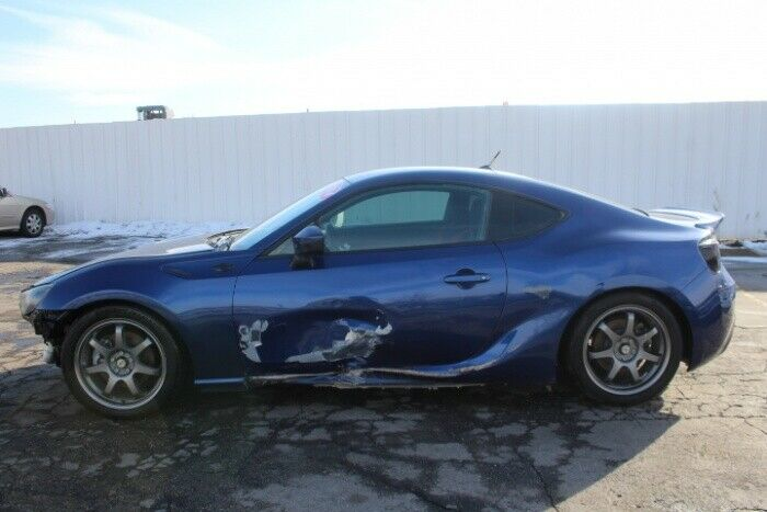 low miles 2014 Scion FR S 6AT repairable