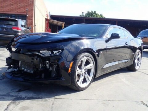 low miles 2019 Chevrolet Camaro SS repairable for sale