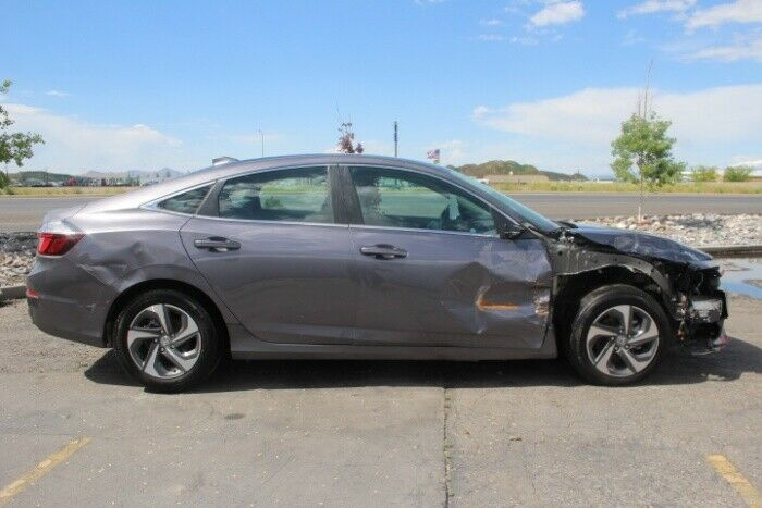 low miles 2019 Honda Insight EX repairable