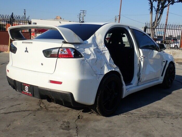 nicely equipped 2008 Mitsubishi Lancer Evolution GSR repairable
