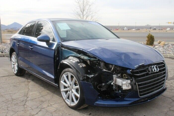 nicely equipped 2015 Audi A3 Quattro 2.0T Premium AWD repairable
