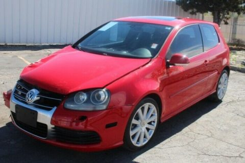 sporty 2008 Volkswagen R32 Hatchback 3.2L repairable for sale