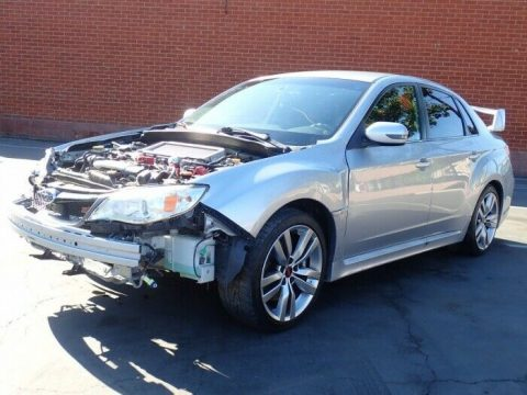 well equipped 2014 Subaru Impreza WRX STI repairable for sale