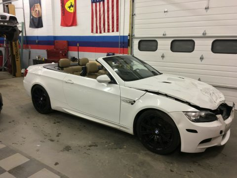 well optioned 2011 BMW M3 repairable for sale