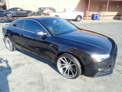 well optioned 2013 Audi A5 Prestige Quattro AWD repairable for sale