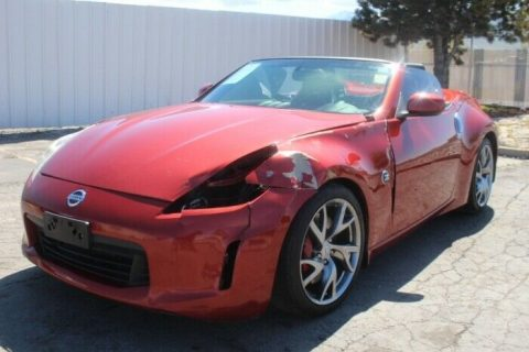 well optioned 2013 Nissan 370Z Touring Roadster repairable for sale