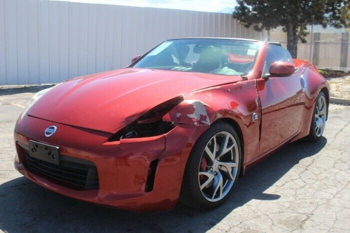 well optioned 2013 Nissan 370Z Touring Roadster repairable