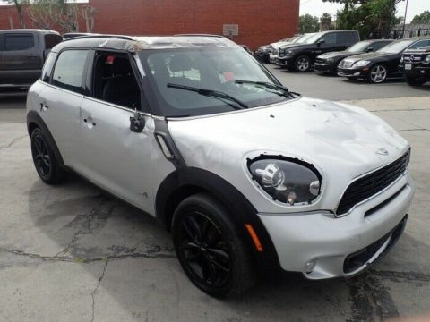 well optioned 2014 Mini Cooper Countryman S AWD repairable for sale