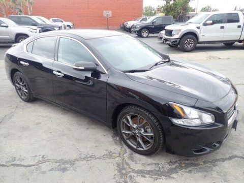 well optioned 2014 Nissan Maxima 3.5 S repairable for sale