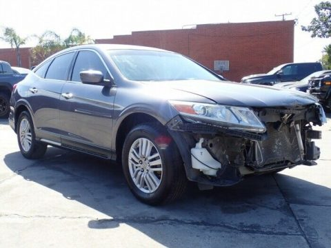 well optioned 2015 Honda Crosstour EX repairable for sale
