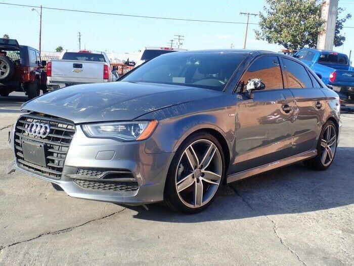 clean 2016 Audi A3 1.8T Premium repairable
