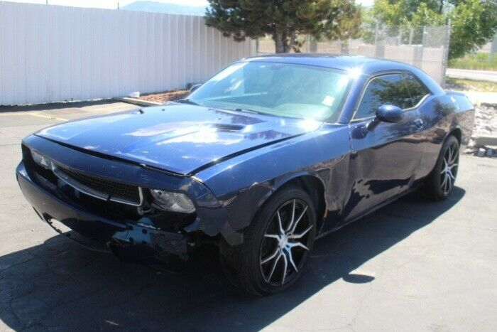 front hit 2014 Dodge Challenger SXT repairable