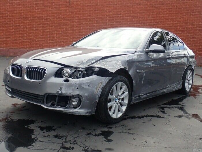 loaded 2015 BMW 5 Series 535i repairable