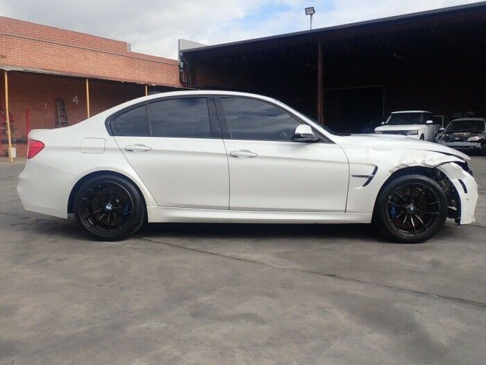 loaded with goodies 2015 BMW M3 3.0 L repairable