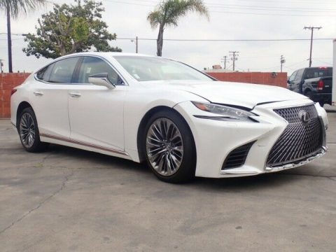 low mileage 2018 Lexus LS LS 500 repirable for sale