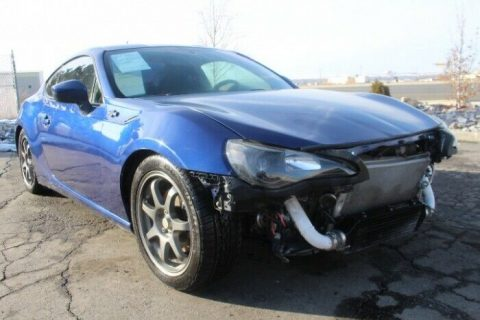 low miles 2014 Scion FR S 6AT repairable for sale