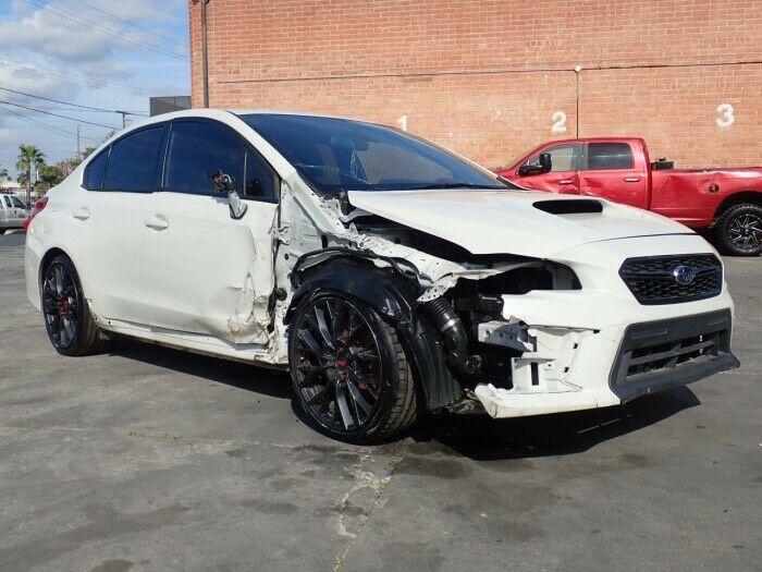 low miles 2018 Subaru WRX WRX AWD repairable
