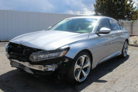 nicely equipped 2018 Honda Accord Sport 1.5T repairable for sale