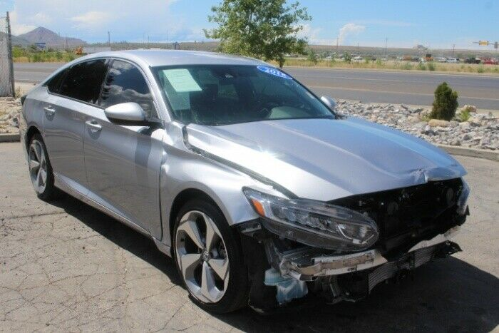 nicely equipped 2018 Honda Accord Sport 1.5T repairable
