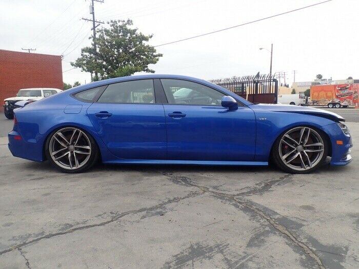 well equipped 2016 Audi S7 Prestige Quattro Tiptronic AWD repairable