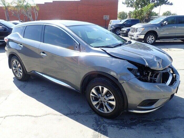 well equipped 2016 Nissan Murano S repairable