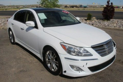 easy fix 2014 Hyundai Genesis 3.8L repairable for sale