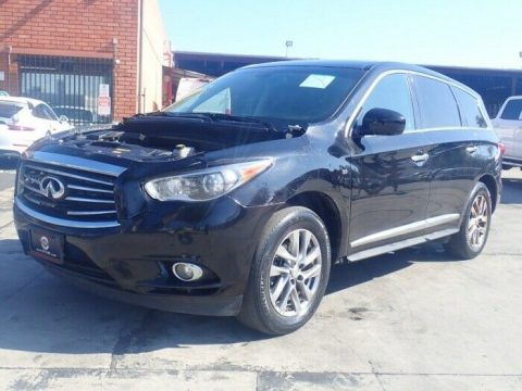 loaded 2014 Infiniti QX60 FWD repairable for sale
