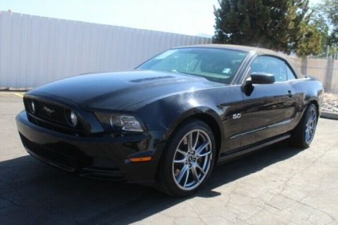 low miles 2014 Ford Mustang GT repairable for sale