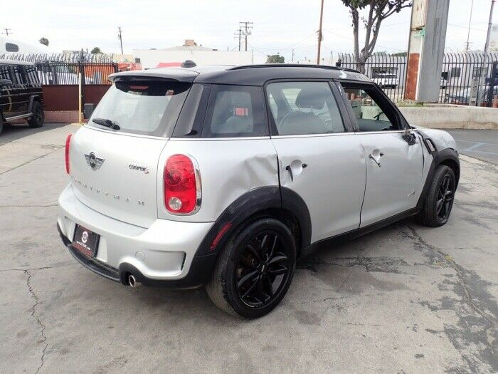 well equipped 2014 Mini Cooper Countryman S AWD repairable