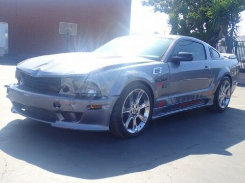 custom 2006 Ford Mustang Saleen GT repairable for sale