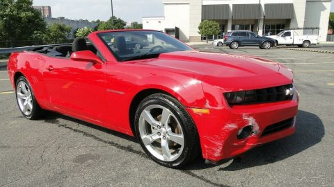 easy fix 2012 Chevrolet Camaro Camaro 1LT repairable for sale