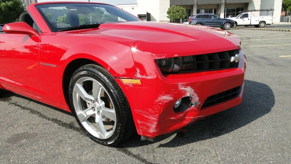 easy fix 2012 Chevrolet Camaro Camaro 1LT repairable