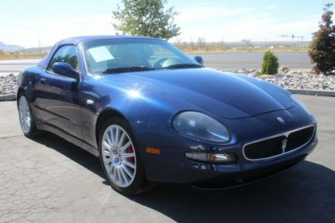 easy repair 2002 Maserati Spyder Cambiocorsa repairable for sale