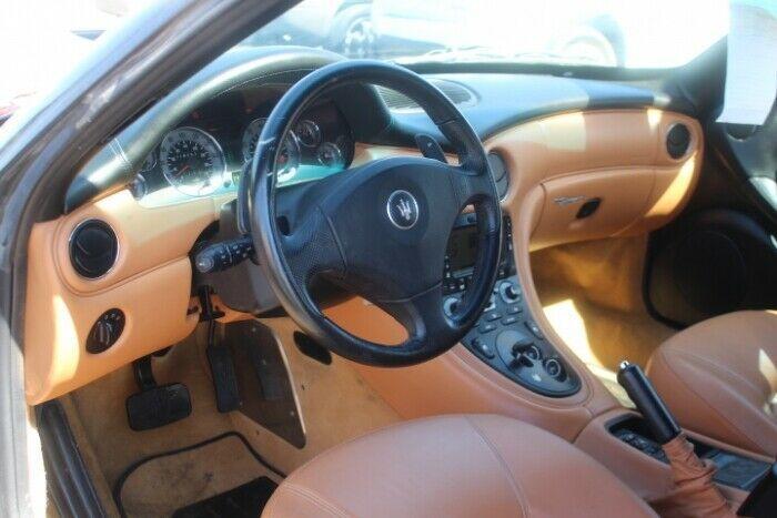 easy repair 2002 Maserati Spyder Cambiocorsa repairable