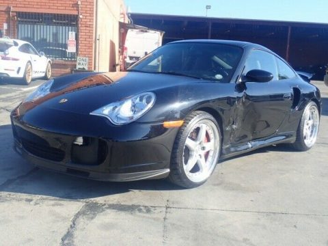 low miles 2004 Porsche 911 Turbo repairable for sale