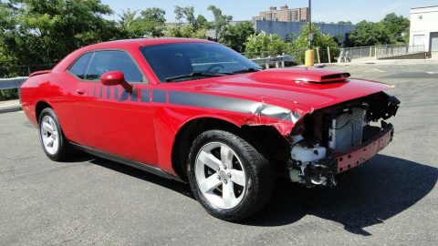 low miles 2012 Dodge Challenger R/T repairable for sale