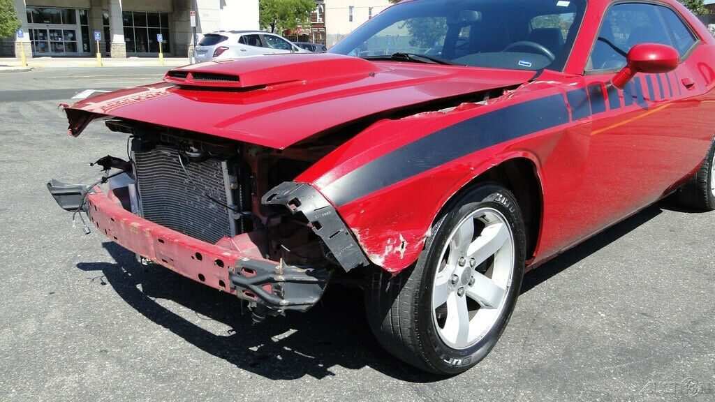 low miles 2012 Dodge Challenger R/T repairable