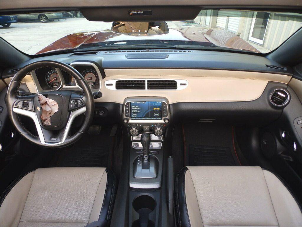 low miles 2015 Chevrolet Camaro 2SS / RS Convertible repairable