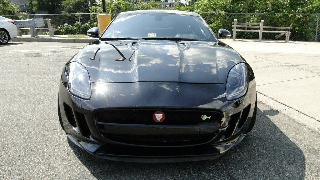 low miles 2015 Jaguar F Type R 5.0L V8 Supercharger repairable