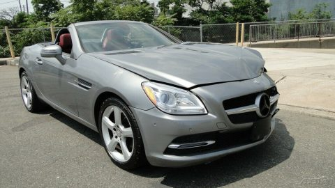 luxury 2014 Mercedes Benz SLK 250 repairable for sale